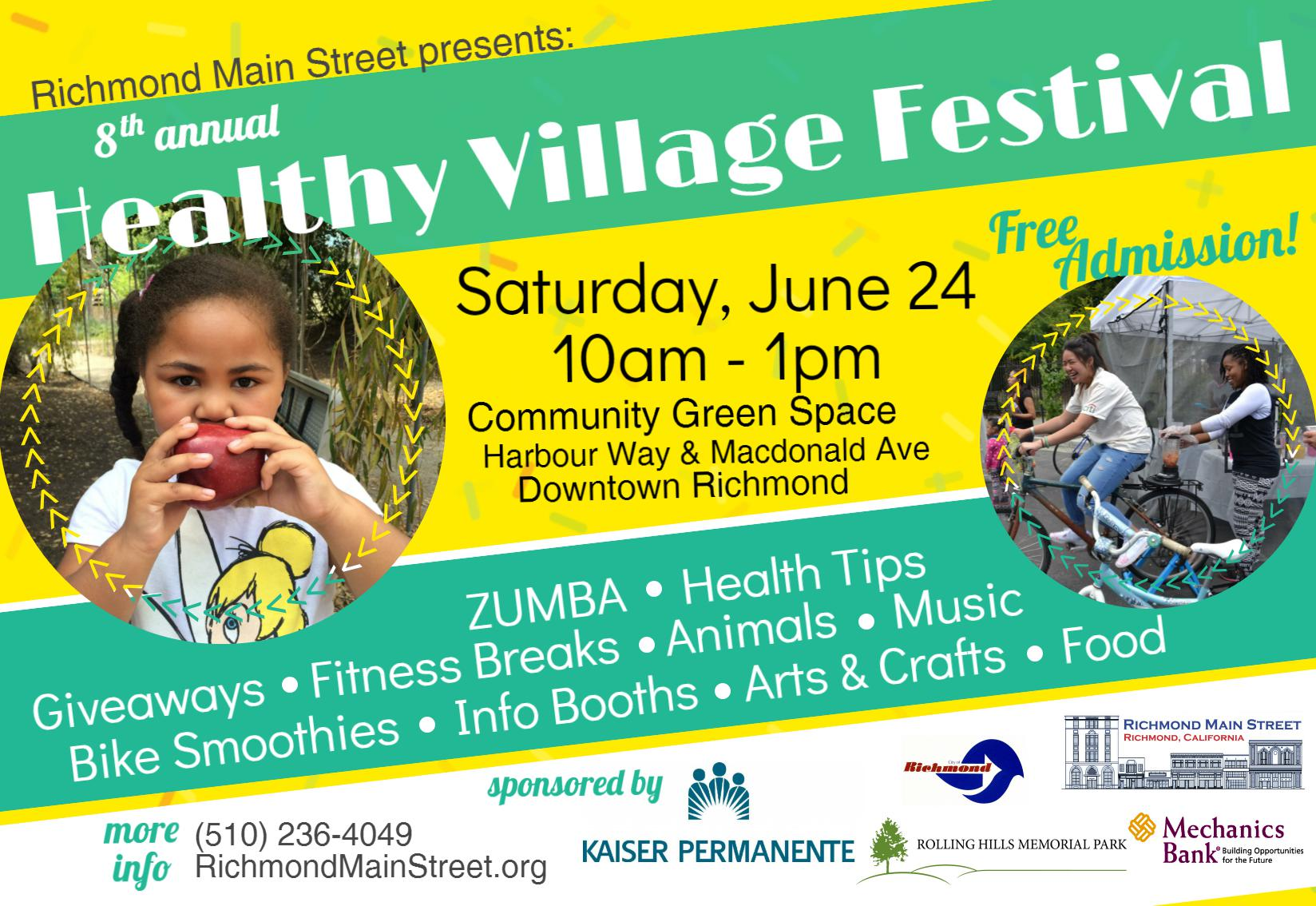 Annual Healthy Village Festival returns to kick-off  Celebrate Downtown Summer Event Series