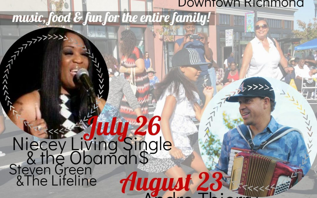 Music on the Main Ready to Bring Downtown Richmond Alive with Soulful Sounds & Eats