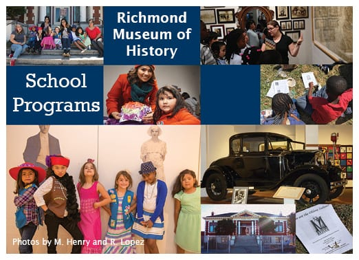 Richmond Museum of History Announces New FREE Field Trip Program