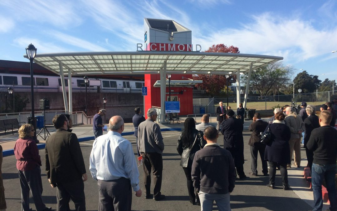 Officially Open: New & Improved Eastern Entrance to Richmond BART Station