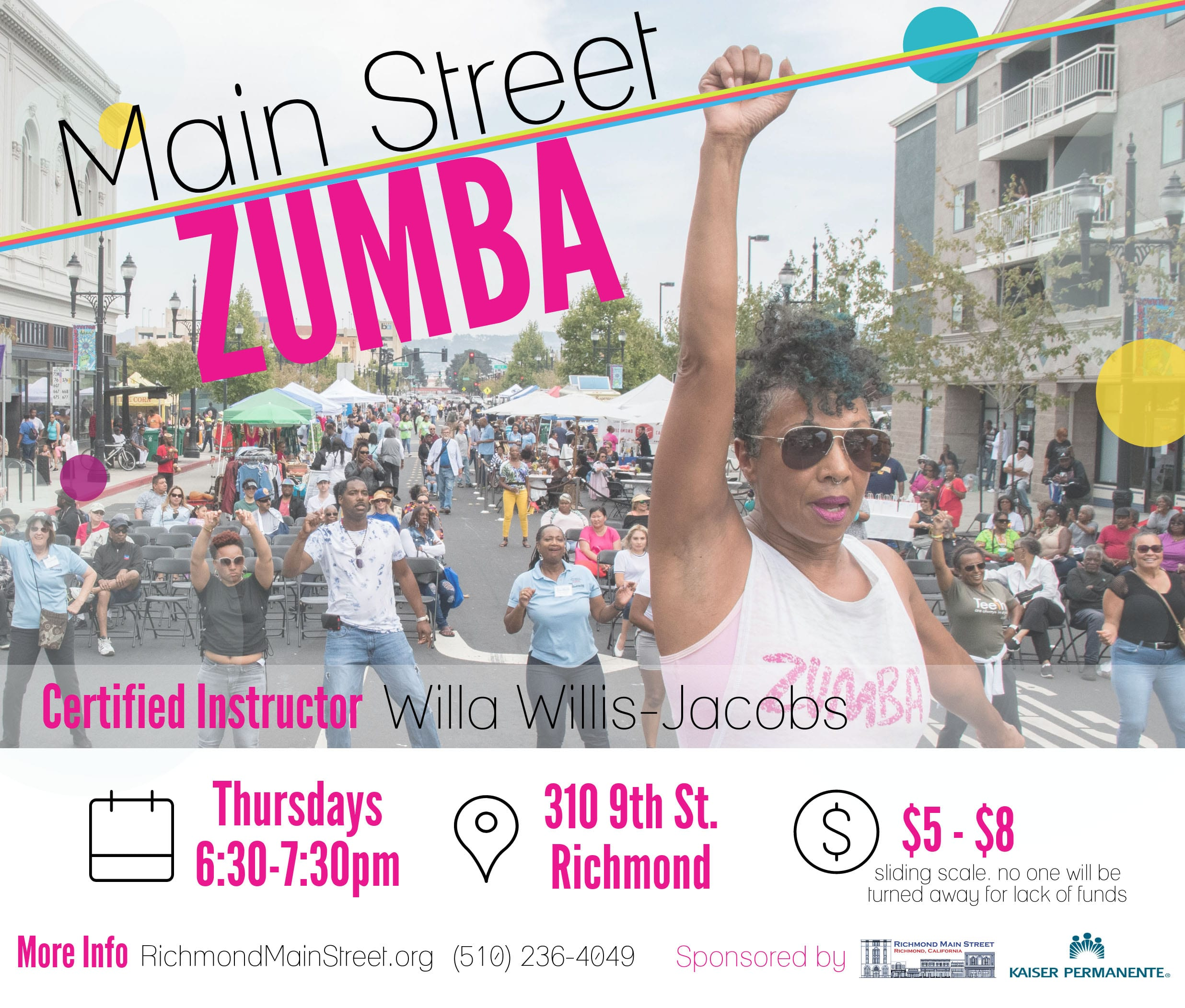 Main Street Zumba is BACK!