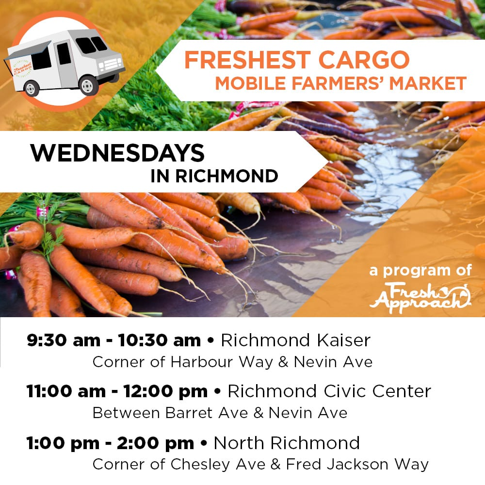 Freshest Cargo 2018: New Downtown Location & Time, Same Fab Produce!