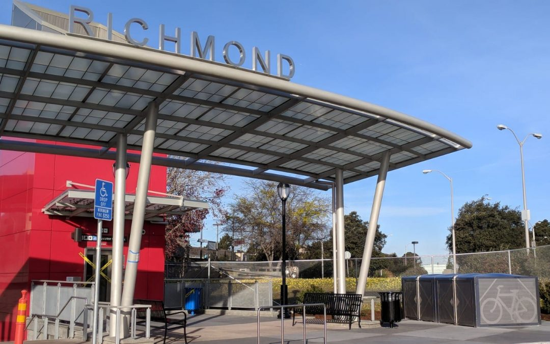 New Bike Lockers at Richmond BART