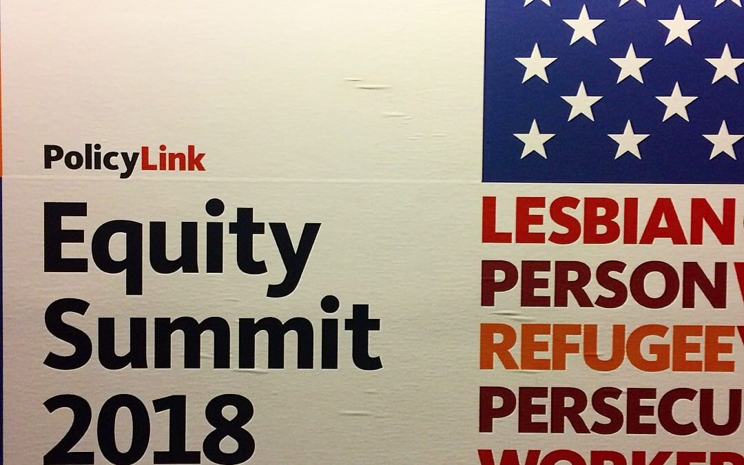 On Sharing Space, Ideas & Experiences at #EquitySummit2018