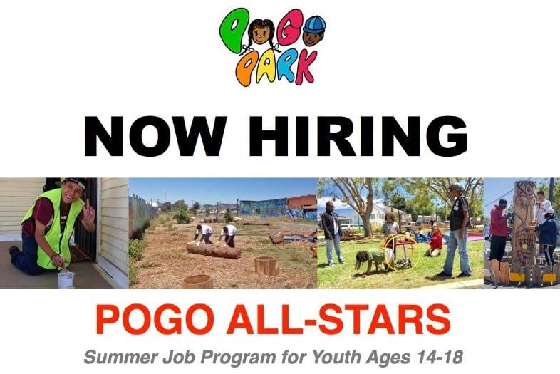 Summer Jobs for Richmond Youth, Pogo Park
