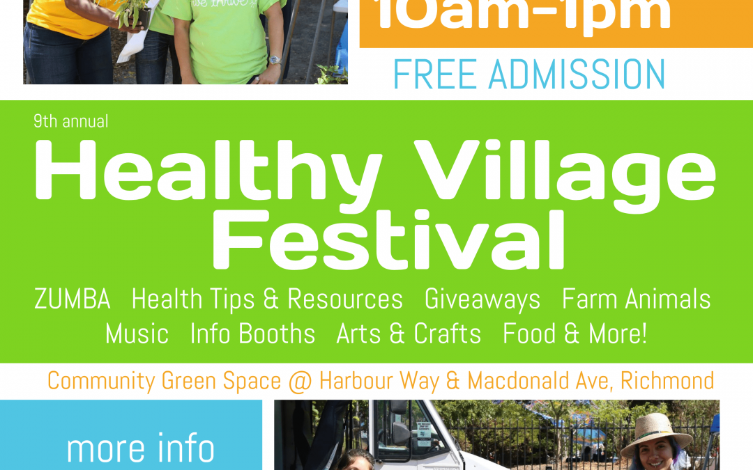 9th annual Healthy Village Festival to Bring Pop-Up Farm, Bike Blender Smoothies, History Hike & More to Downtown Richmond