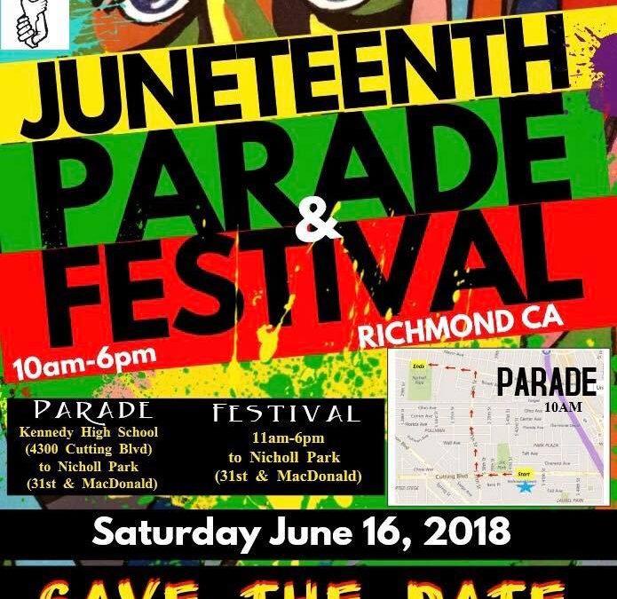 Juneteenth Parade & Festival 2018