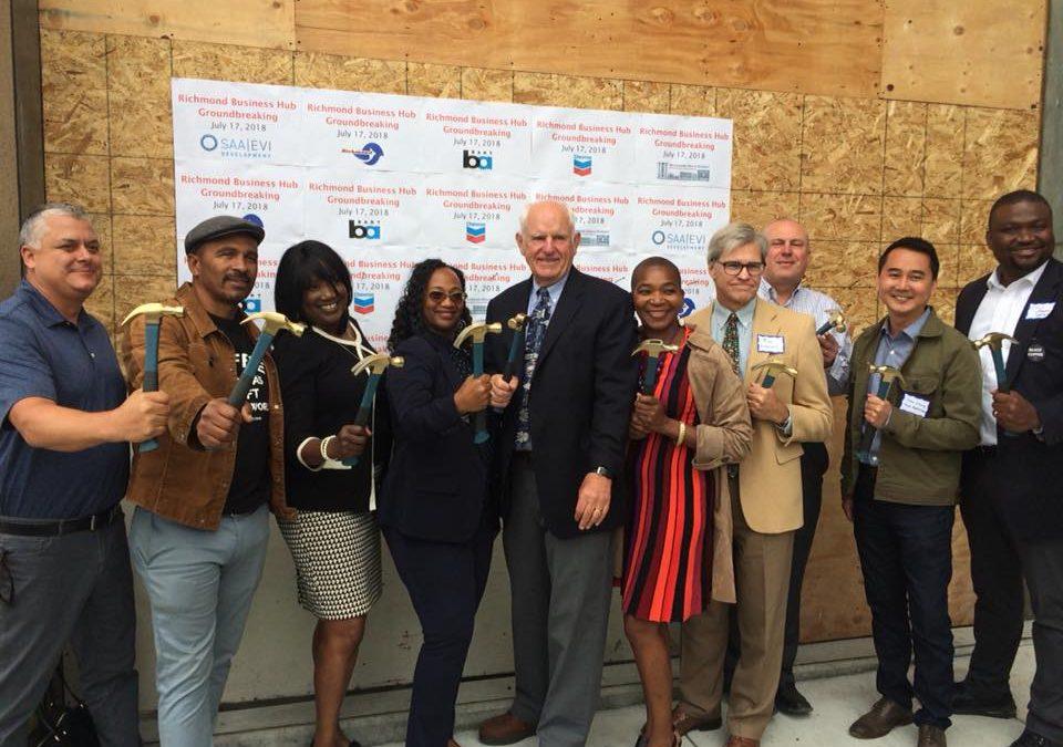 Richmond Business Hub Breaks Ground