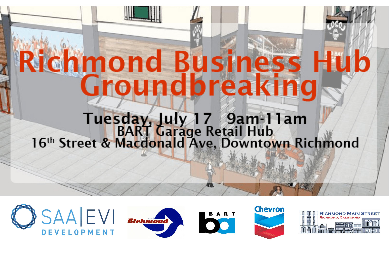 Richmond Business Hub to Break Ground July 17, 2018