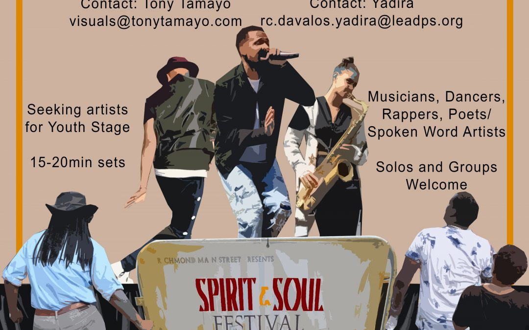 Call for Youth Performers! Spirit & Soul Festival 2018
