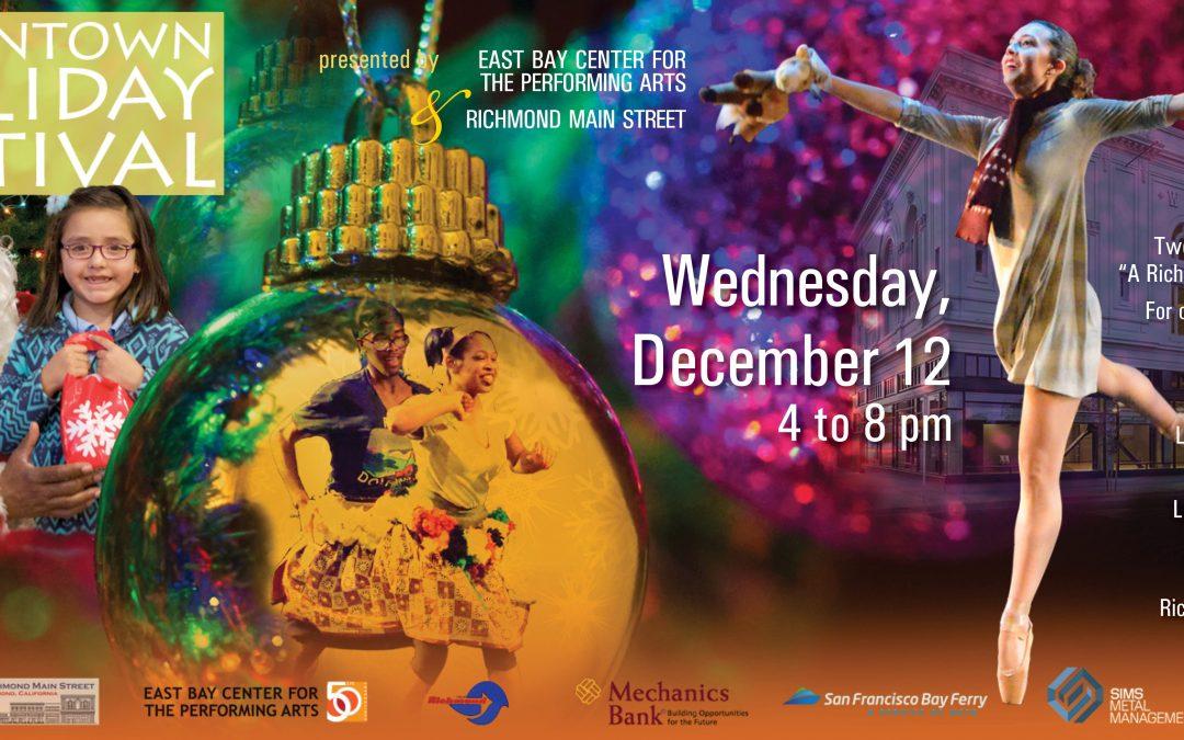 Santa Visits, Holiday Lights, and A Richmond Nutcracker Bringing Joy to Families at Annual Downtown Holiday Festival