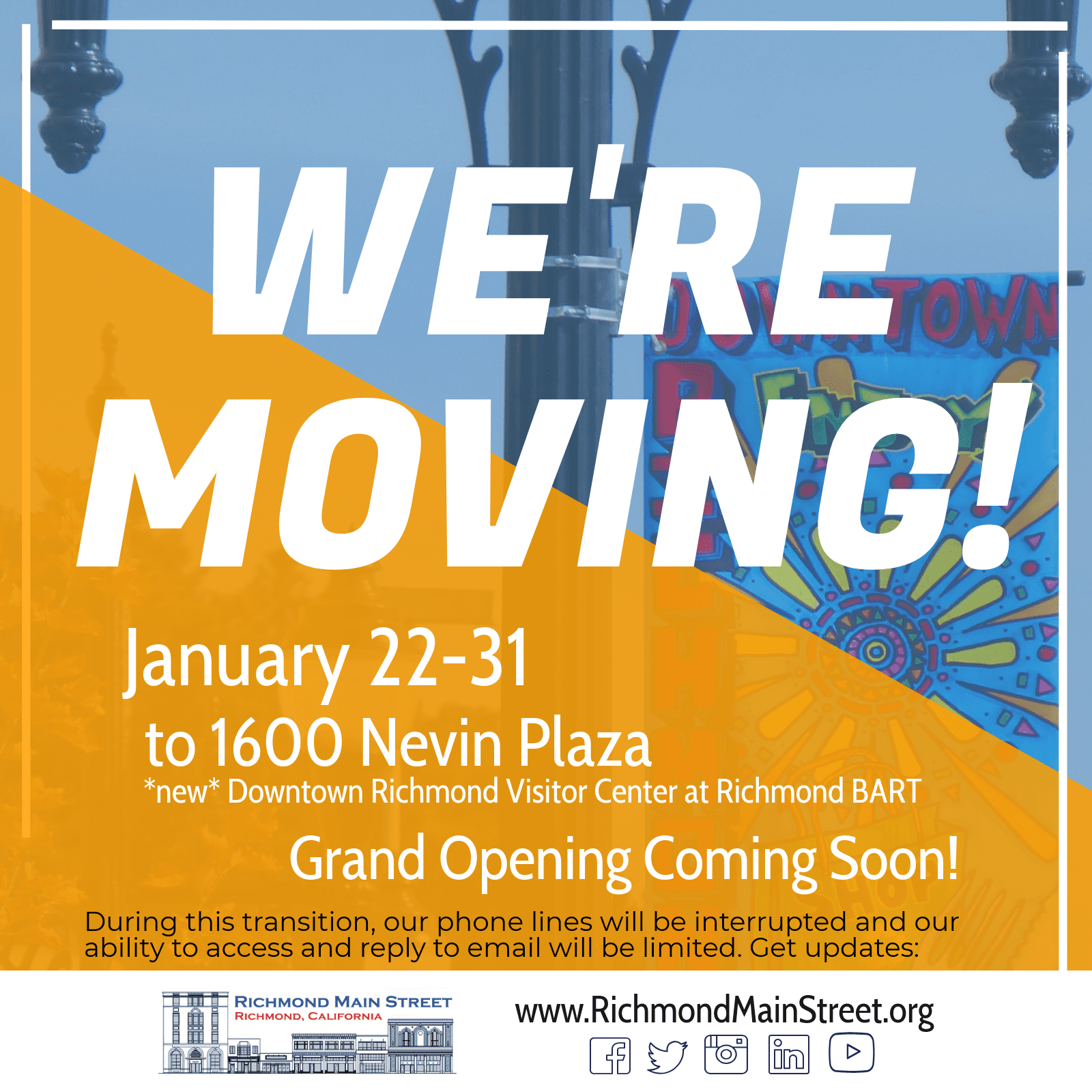 Exciting News: We're Moving!