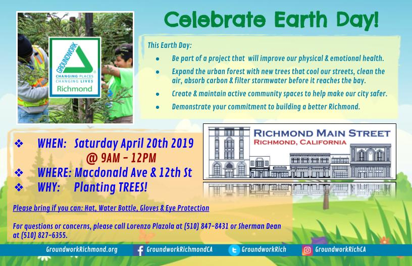 Celebrate Earth Day 2019 Downtown!