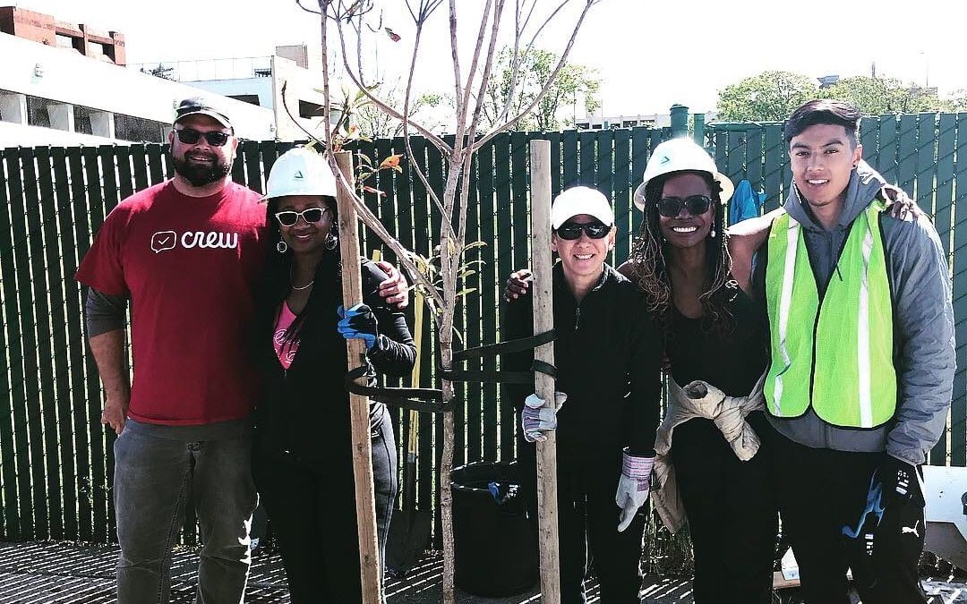 Happy Trees, Happy Downtown! Earth Day 2019 Tree Planting a Success