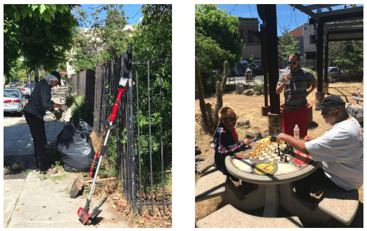 Main Street Volunteers Work Hard, Play Hard!