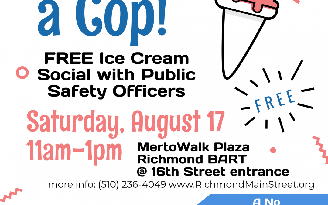 Kids and Kids at Heart Invited to Chill with a Cop August 17