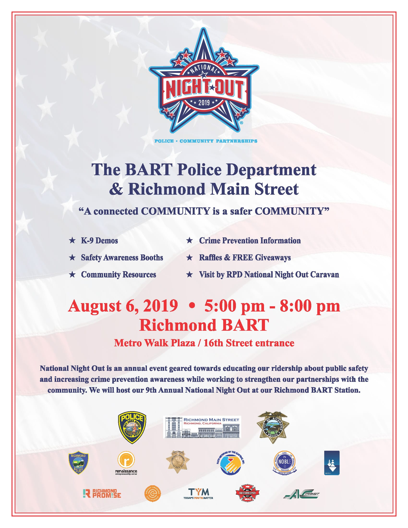 Action-Packed August is here & It Starts Tomorrow with National Night Out