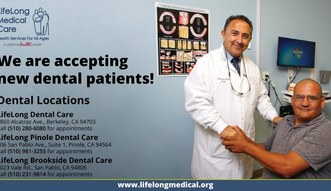 LifeLong Dental Care: High Quality Oral Healthcare with Locations in Berkeley, Pinole, & San Pablo