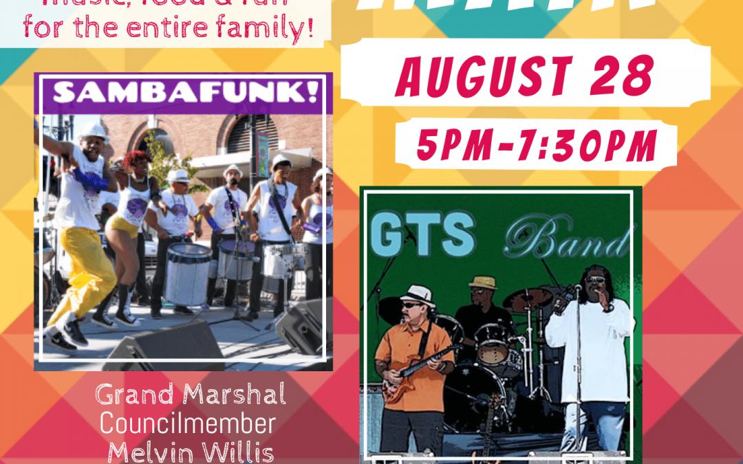 Music on the Main Encore Bringing Funky Afro Samba Beats & Latin Jazz Fusion to Downtown Richmond