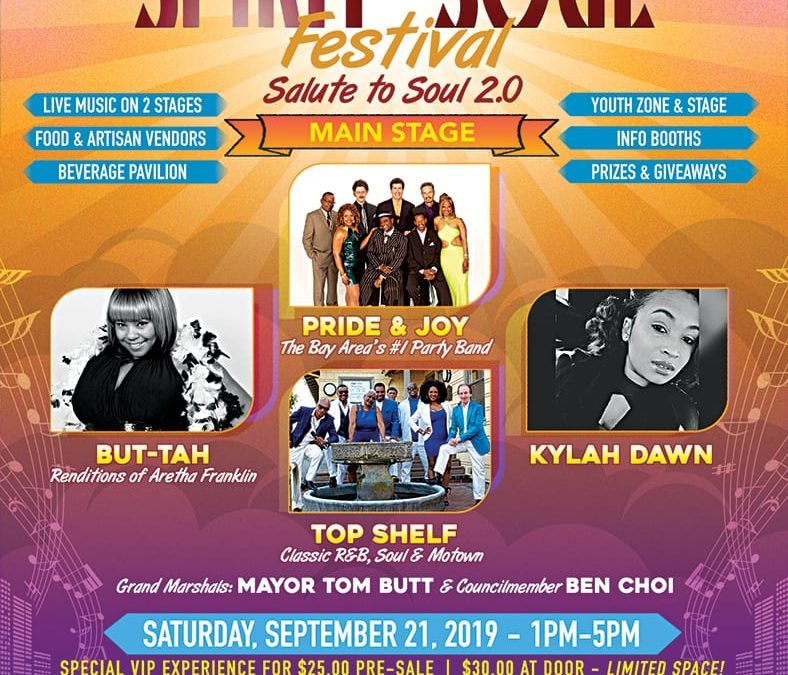 Richmond Becomes City of Pride & Joy Saturday Courtesy of Annual Spirit & Soul Festival