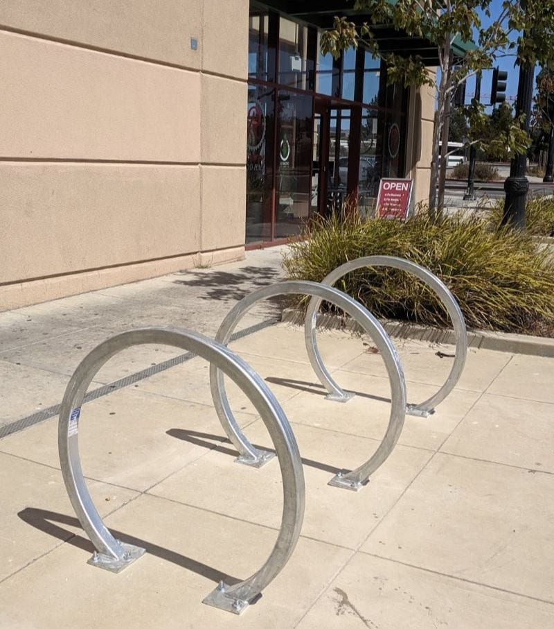 More Bike Parking Added Downtown