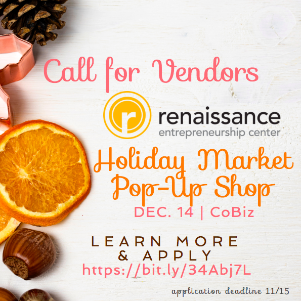 Vendors Wanted: Renaissance Richmond Holiday Market Pop-Up