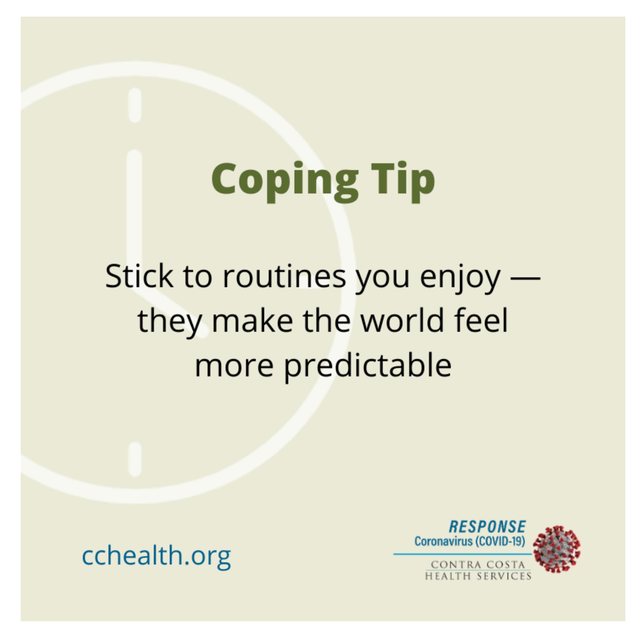 CCCHealth CopingTip Routines