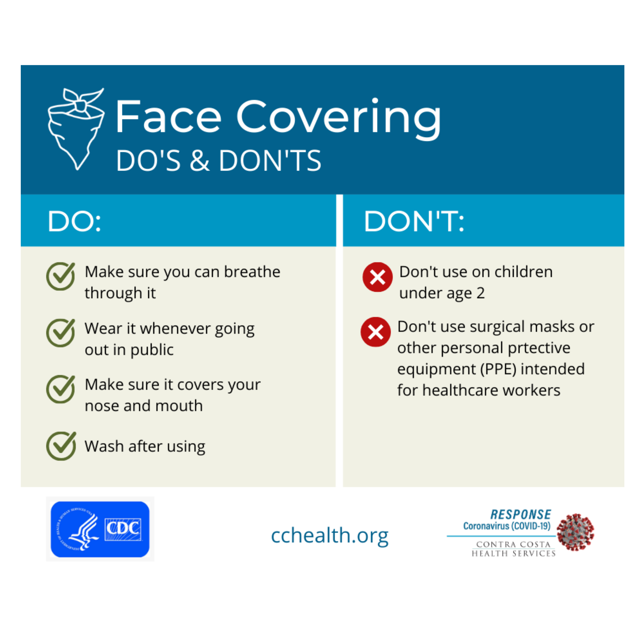 CCCHealth CoverDos&Donts