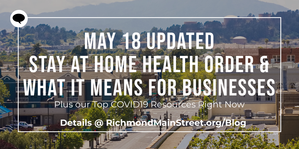 May 18 Updated Stay at Home Health Order & What it Means for Businesses
