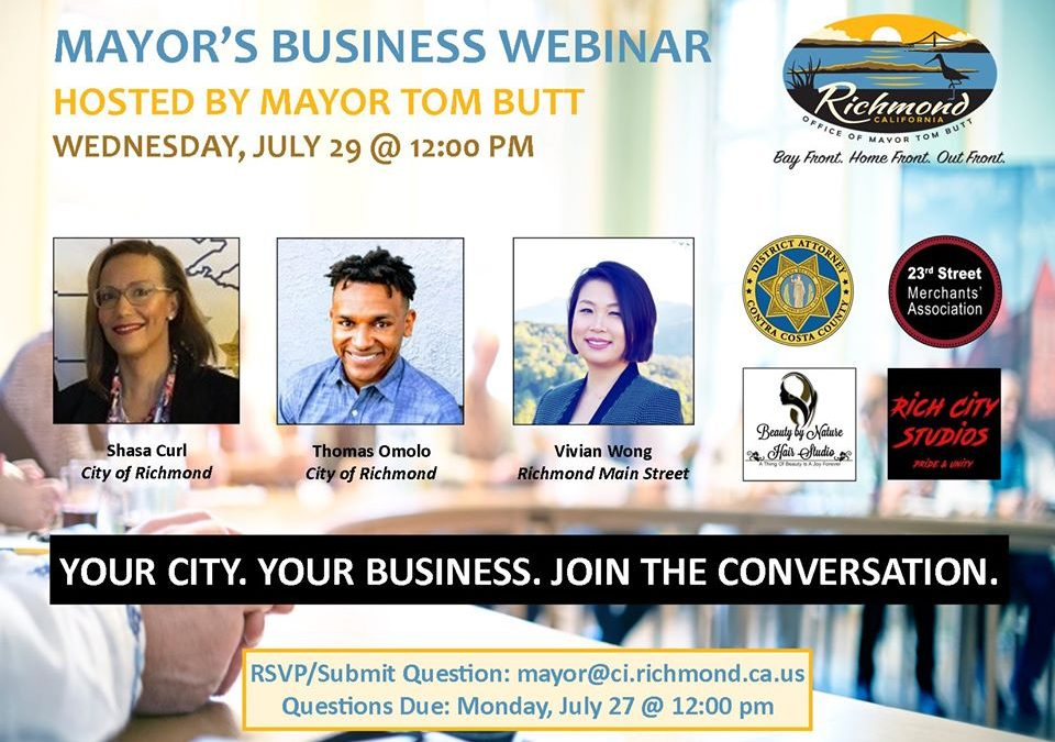 Main Street News: See You at the Mayor's Business Webinar