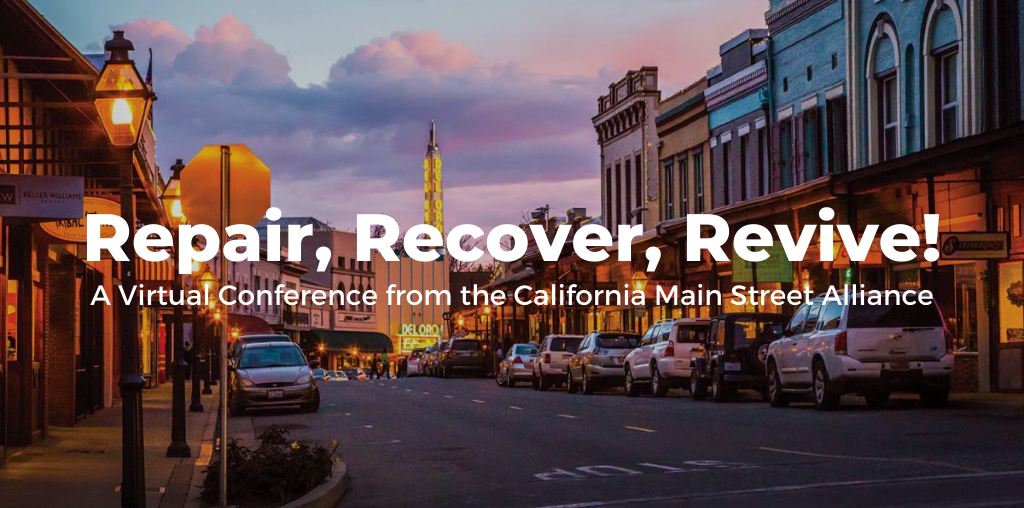 Repair, Recover, Revive! Conference – Nov 12 & 13