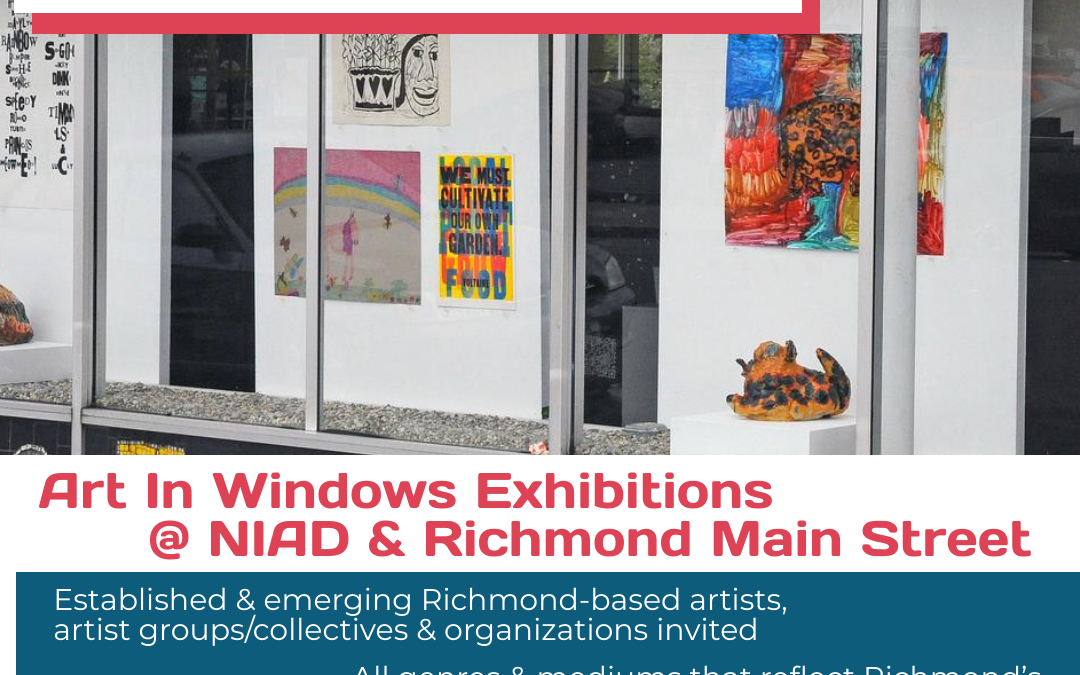 Call for Artists! Art In Windows 2021