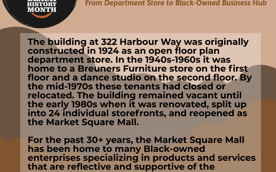 Market Square Mall: From Department Store to Black-Owned Business Hub