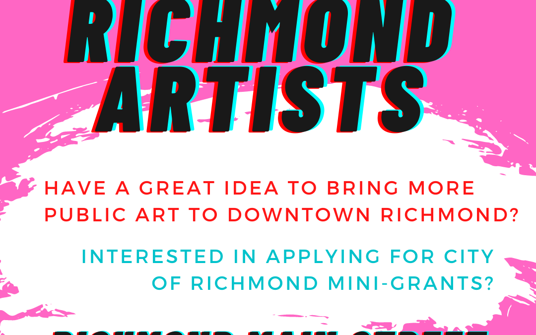 Calling Richmond Artists – Let's Collaborate!